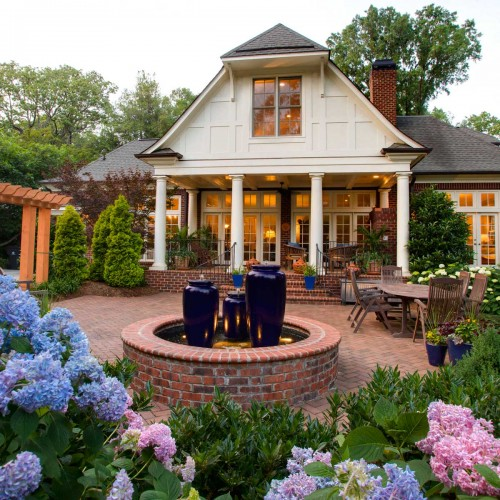 Huntley Place, residential landscape design in Charlotte, NC