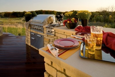 outdoor kitchen design Charlotte, NC